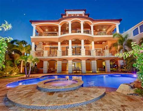 Luxury Home Floorplans 2 85 Million Waterfront Mediterranean Mansion In Port