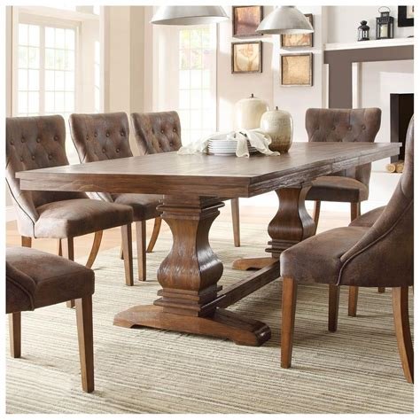 high dining room table distressed finish kitchen dining distressed dining room furniture distressed white dining