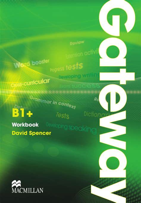 libro gateway 2nd edition b1 gateway b1 workbook unit 1 by macmillan education issuu