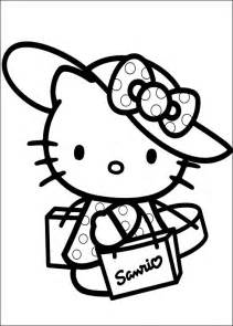 fun coloring pages kitty coloring pages