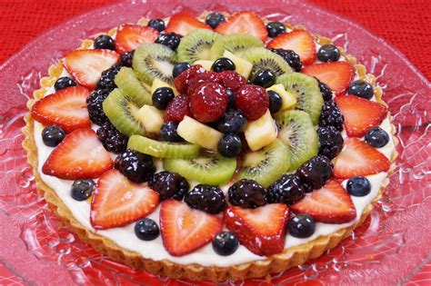 easy fruit tart dishin with di cooking show recipes