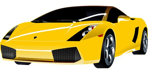 cartoon sports car png image vectorielle gratuite voiture de luxe cher