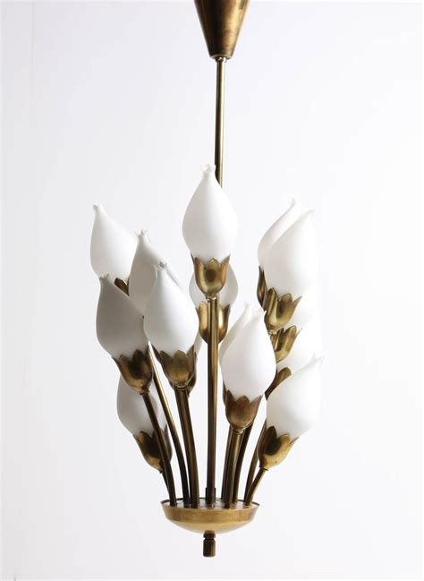Tulip Chandelier Tulip Chandelier By Fog And M 248 Rup At 1stdibs