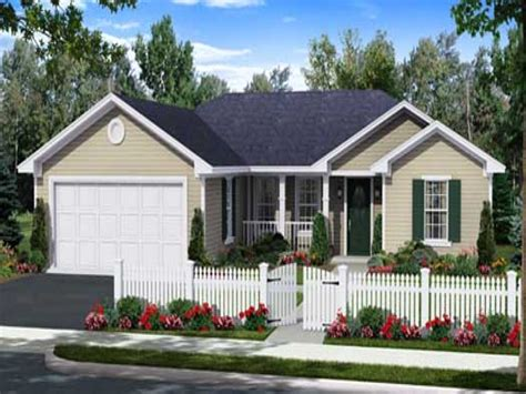 contemporary single story house design small modern one story house plans