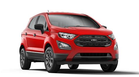 2019 ford ecosport 2019 ford ecosport exterior color options