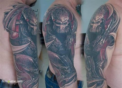 predator tattoos predator tattoos