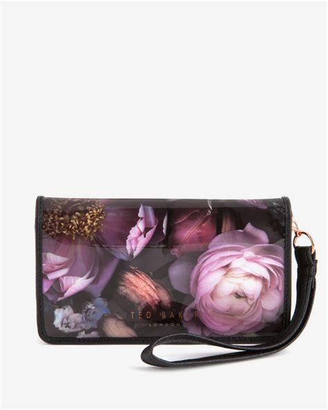 Ungrip Colors Collection Polyester Phone Grey lyst ted baker shadow floral phone sleeve in gray for