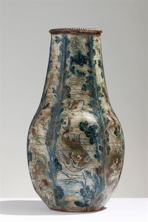 Martin Brothers Vase by Sinai And Sons Raphael And Joshua Sinai Offering Documented And Exles Of