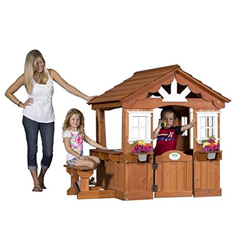 Backyard Discovery Scenic Playhouse by Backyard Discovery Scenic All Cedar Wood Playhouse Epic