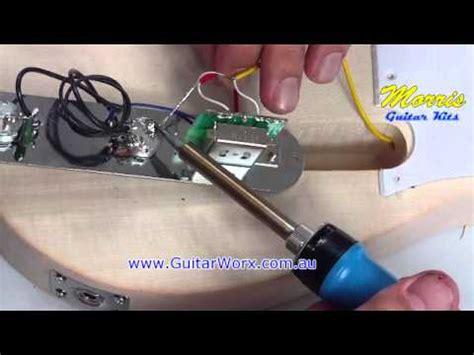 wiring  fender telecaster style guitar kit www