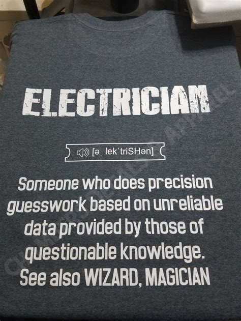 best 25 electrician humor ideas on pinterest