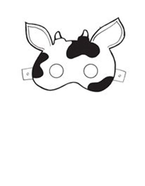 fil a cow mask template 85 best images about farm themed ideas on