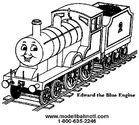 Edward Thomas Color Colouring Pages Page 2 Thomas The The Tank Engine Colouring Page
