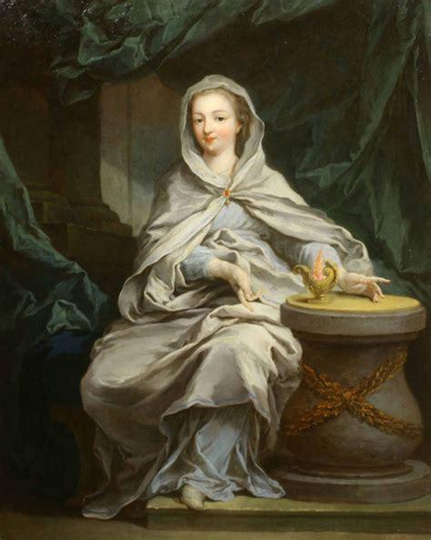 1409935051 la boucle de cheveux enlevee marie antoinette en vestale d apr 232 s vig 233 e le brun ou callet
