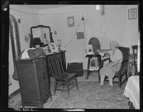 in the room file mrs camillogasperetti of miner in living room of their home in company housing