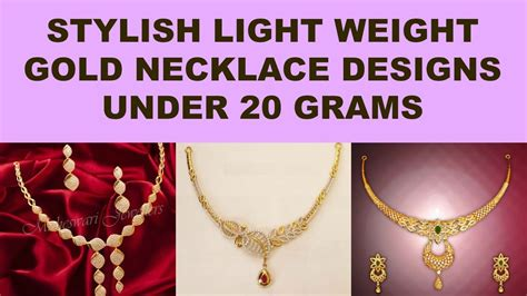 Weight Your Apples2apple Simple And Stylish light weight gold necklace designs simple and
