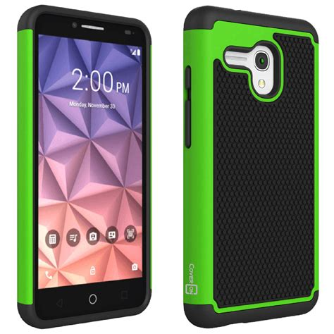 alcatel phone cases slim hybrid armor phone for alcatel onetouch fierce