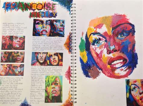 gcse sketchbook 25 best ideas about portfolio on textiles