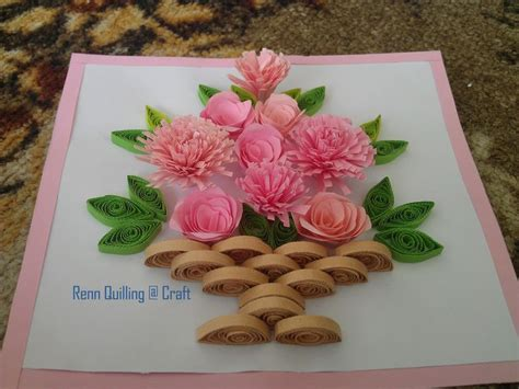 How To Make Flower Basket With Paper - 9 best images about paper quilling on