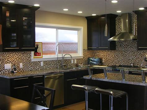 decorating ideas kitchen cabinets espresso with glass tile kitchen and bath cabinets vanities home decor design ideas