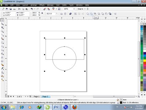 tutorial corel draw simple corel draw tutorial rizalahsan94