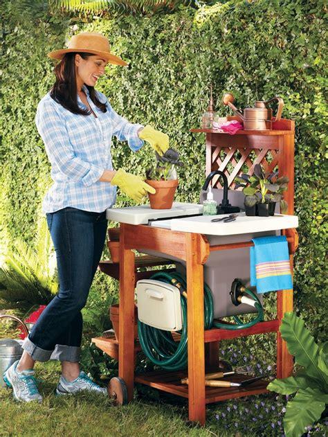 Outdoor Garden Sink Station by Outdoor Garden Sink Work Station Garden Sink Work
