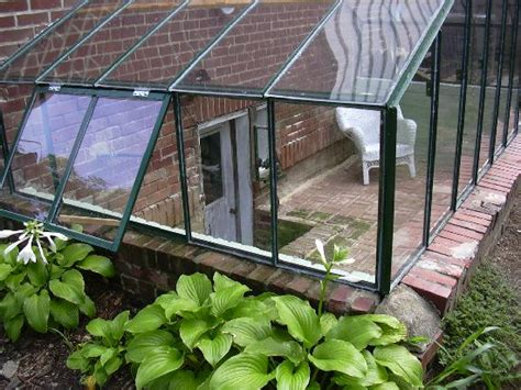 what is a walk up basement greenhouse