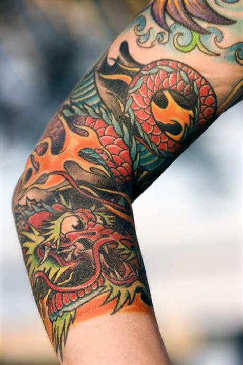 dragon tattoo on arm gallery