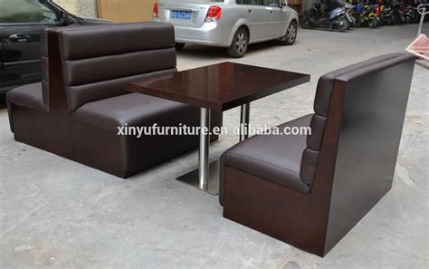 half booth half table restaurant booth sofa and dining table set xyn1838 buy