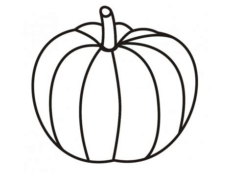 Blank Coloring Page blank pumpkin coloring pages coloring home