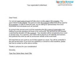 Sponsorship Letter Non Profit Sle Sponsorship Letter For Donations The Best Letter Sle