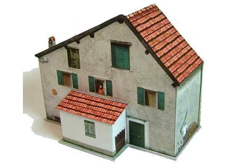 Country Papercraft - papermau country house paper model by zio prudenzio