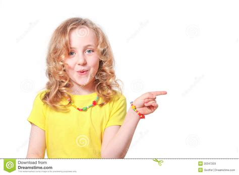 child s child pointing stock image image of surprise surprised