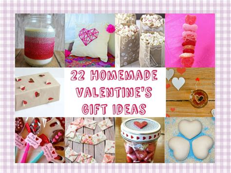 diy valentine gifts for friends 22 homemade valentine s gift ideas