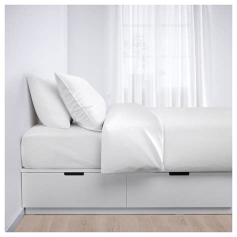 ikea nordli storage bed nordli bed frame with storage white 90x200 cm ikea