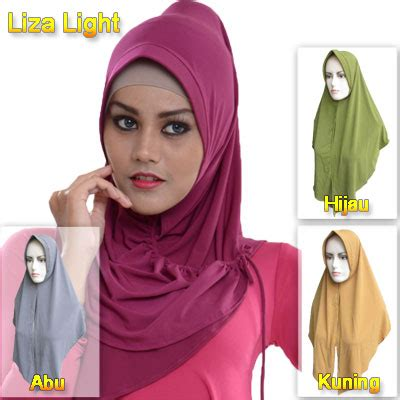 Heaven Light Kerudung Jilbab Segi Empat 12 bros jilbab kerudung trend