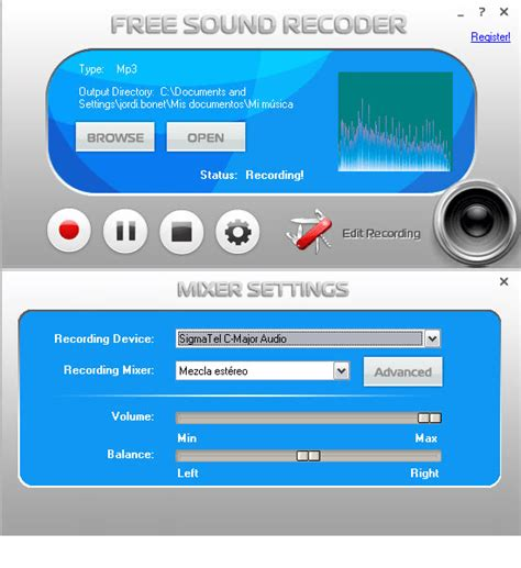 web recording software free free sound recorder