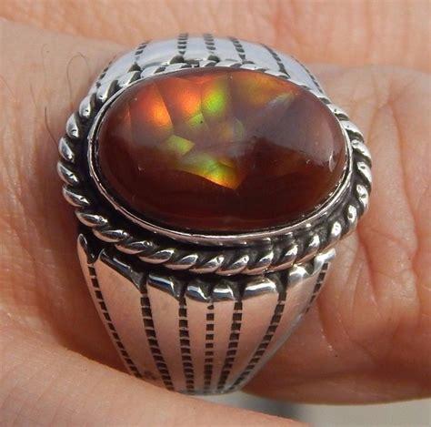 Batu Permata Blue Sapphire Cincin Silver 925 Lapis Emas Putih 797 best images about s rings on gents