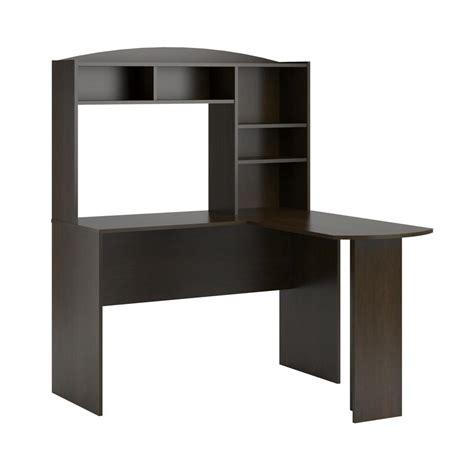 Espresso Desk With Hutch Ameriwood Gullberry Espresso Desk With Hutch Hd60874 The Home Depot