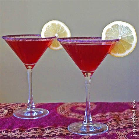 martini limoncello pomegranate limoncello martinis joy love food