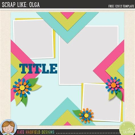1000 images about free templates digital scrapbooking
