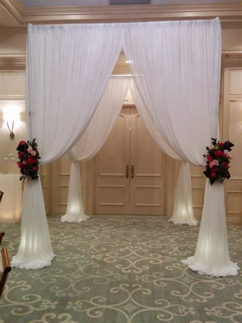 how to drape a chuppah 17 best images about studio ag ceremony on pinterest