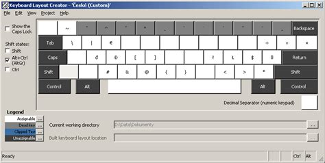 keyboard layout xp craftcom net