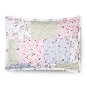 simply shabby chic 168 ditsy patchwork sham pink target
