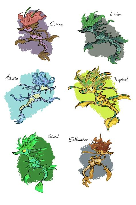 17 best images about pokemon morphology and variations on