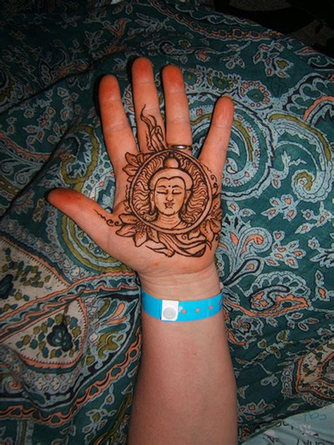 henna buddha on palm tattoos book 65 000