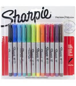 colored sharpies sharpie ultra permenent markers carded 12 pkg