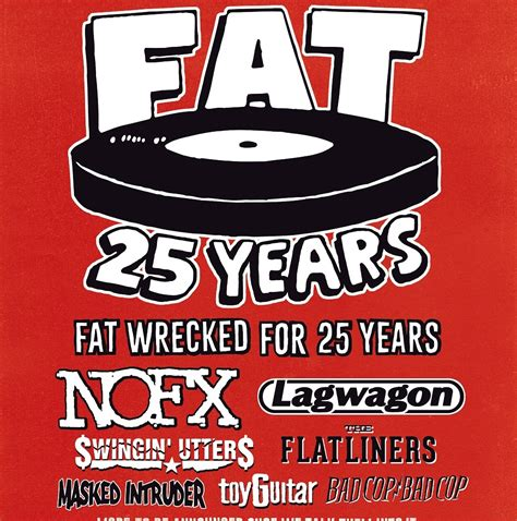 Concert Tickets Sweepstakes - nofx s fat wrecked for 25 years tour ticket giveaway digital tour bus