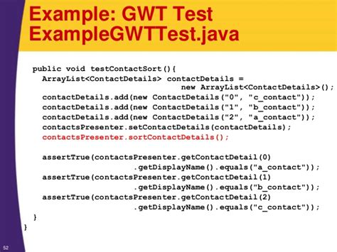 how to design an eventbus java gwt tutorial introduction to the model view presenter