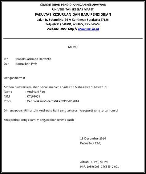contoh memo dalam bahasa indonesia contoh memo porosilmu